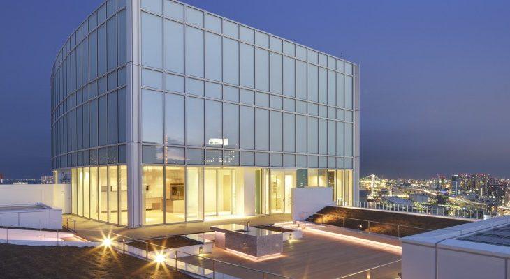 スカイハウス浜離宮の最上階ペントハウスをご紹介